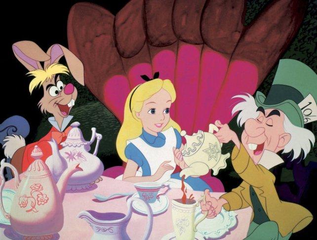ALICE IN WONDERLAND, March Hare, Alice in Wonderland, Mad Hatter, 1951, ©Walt Disney Pictures/courte